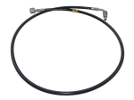 Saab 9000 braided clutch hose LHD