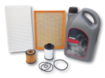 Saab 9-3 1.9 TiD 2005 service kit with oil